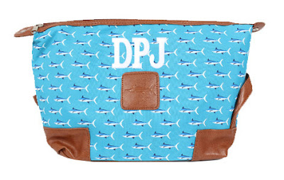 White Background Image of Personalized Men's Large Toiletry Bag