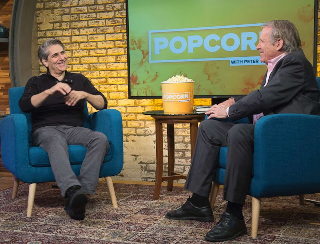 Michael Imperioli, during an appearance on ABC's Popcorn with Peter Travers.