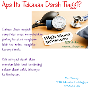7 Cara Mengatasi Masalah Tekanan Darah Tinggi / Hipertensi yang Mengakibatkan Kematian Mengejut.