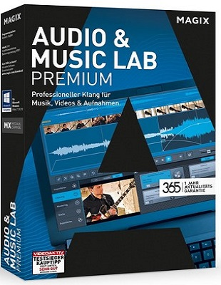 MAGIX Audio & Music Lab 2017 Premium 22.2.0.53 poster box cover