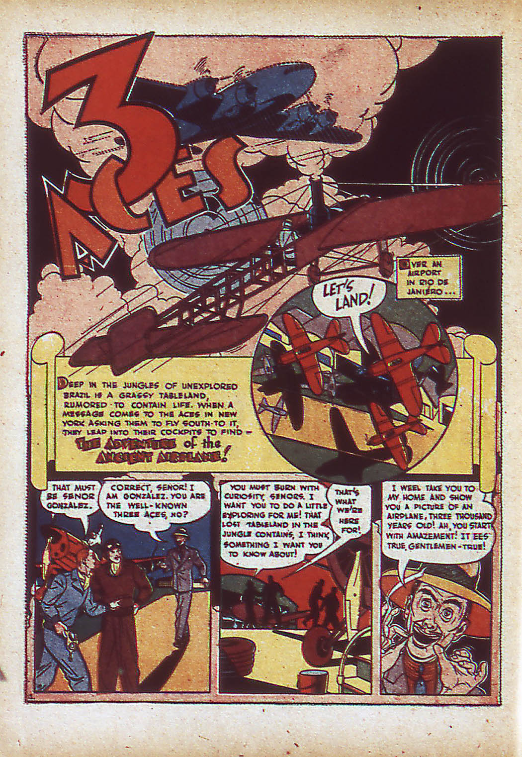 Read online Action Comics (1938) comic -  Issue #43 - 32