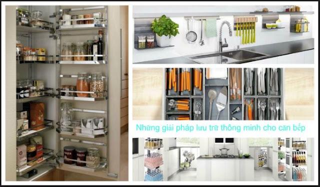 Phụ kiện bếp âm tủ tạo ra những giải pháp lưu trữ thông minh trong bếp
