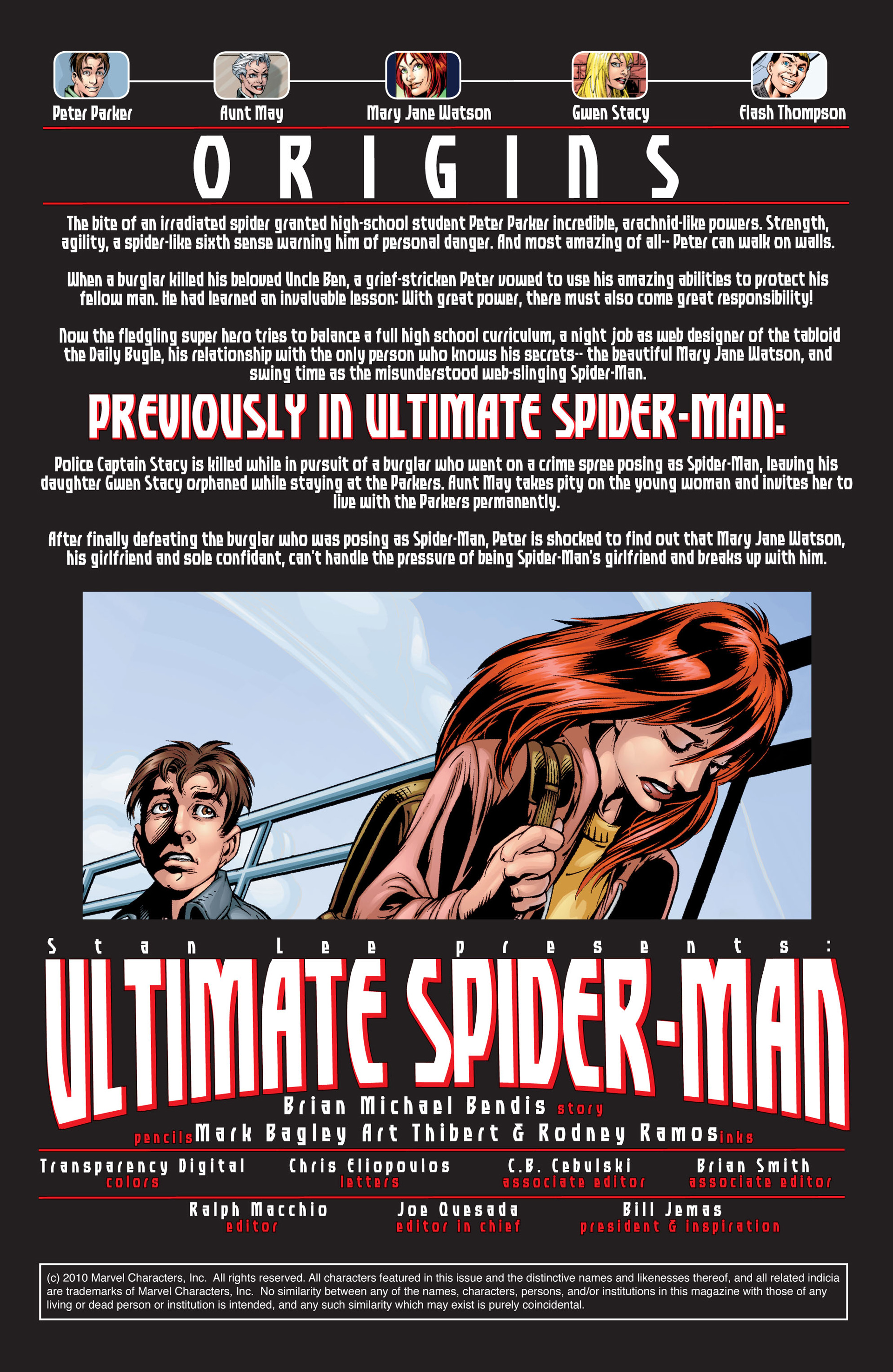 Read online Ultimate Spider-Man (2000) comic -  Issue #33 - 2