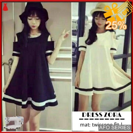 AFO375 Model Fashion Zora Dres Modis Murah BMGShop