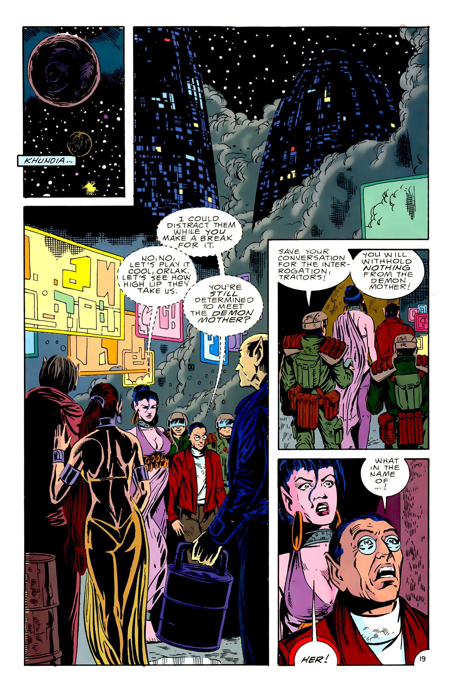 Legion of Super-Heroes (1989) 16 Page 19