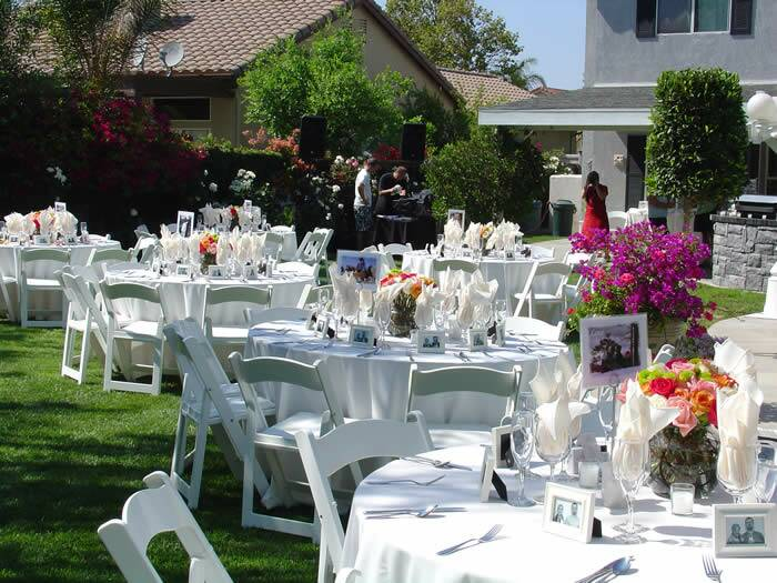 backyard wedding ideas wedding ideas