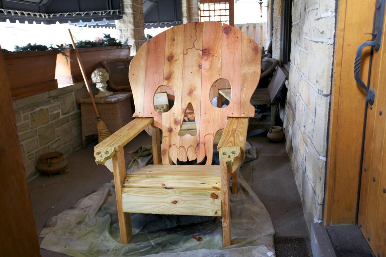Black Skull Chair Gym Lazada Chairs