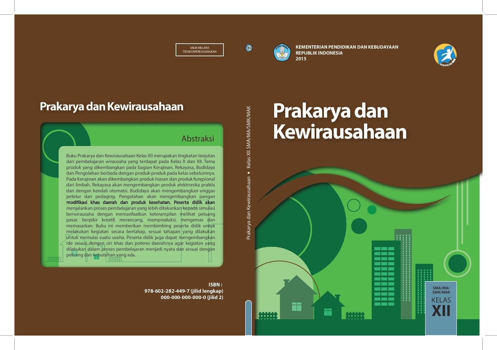 Download Prakarya Dan Kewirausahaan Kelas Xii Kurikulum 2013 Buku Guru Dan Buku Siswa Ruang
