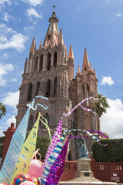 Templo de San Miguel Arcangel en San Miguel de Allende
