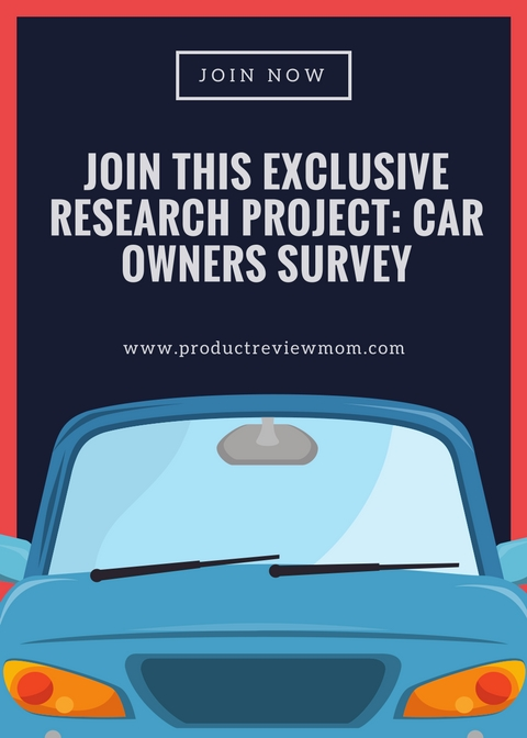 Join This Exclusive Research Project: Car Owners Survey  via  www.productreviewmom.com