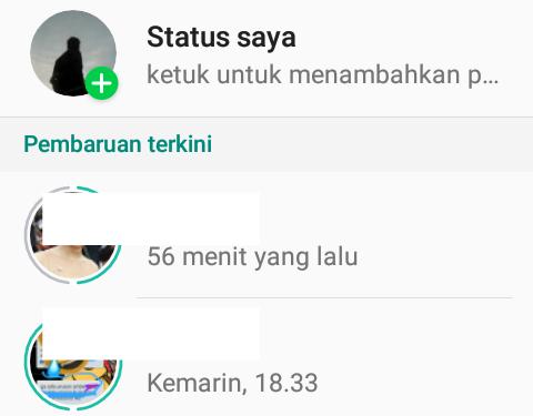 Cara Mengatur Privasi Status Whatsapp Untuk Kontak Tertentu