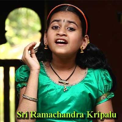 Sri Ramachandra Kripalu Song Lyrics by Sooryagayathri