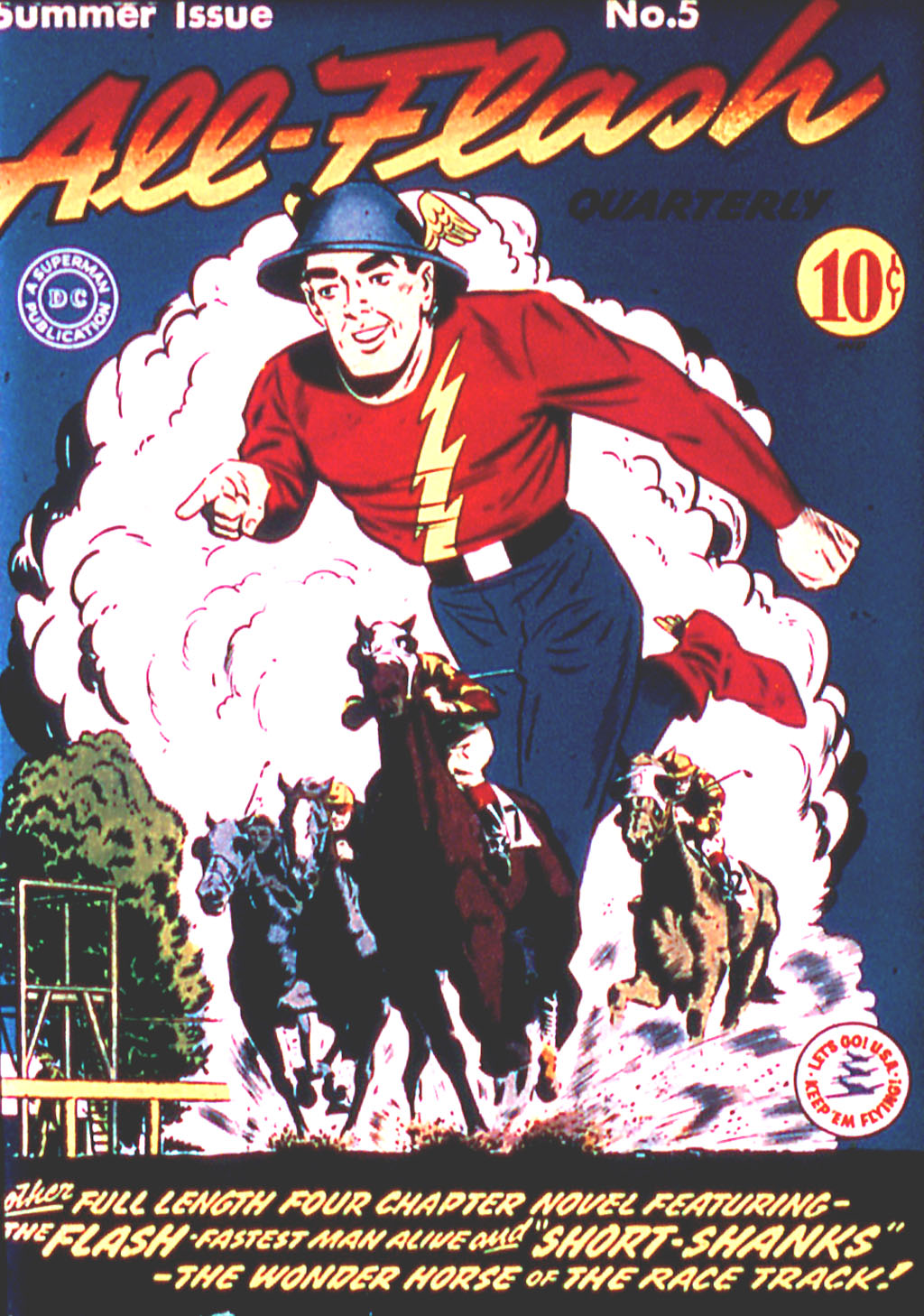 Read online All-Flash comic -  Issue #5 - 1