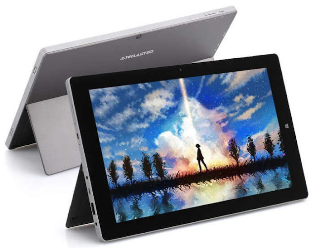 Tablet baru, Teclast X3 Plus Gunakan RAM 6 GB dengan Sistem Operasi WIndows 10