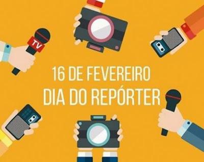 Hoje é o dia do Repórter
