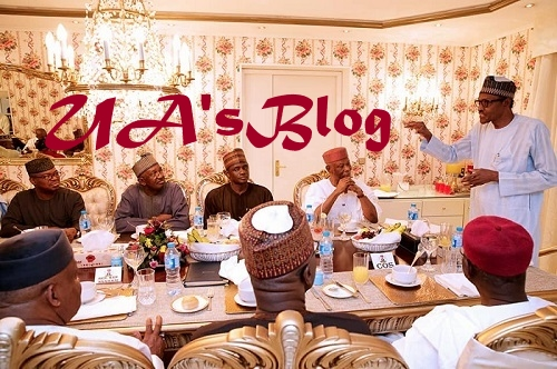 Why Jonathan Was A Great President, Why I Am Not An Ethnic Bigot, Not In Hurry To Do Anything - The Shocking Things Buhari Told APC Chieftains At Thursday Diner