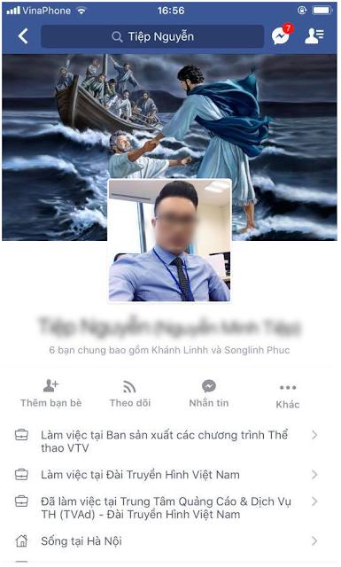 Facebook MC truyền hình VTV bạo hành trẻ em