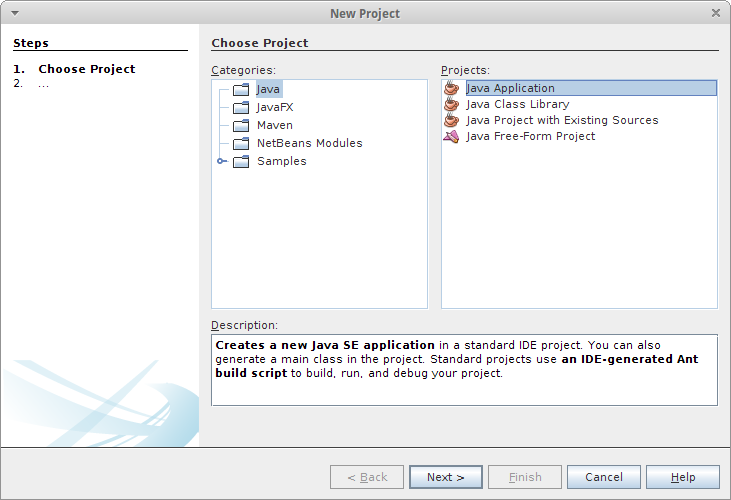 Arduino-er: Create Java project using librxtx-java in Netbeans, work