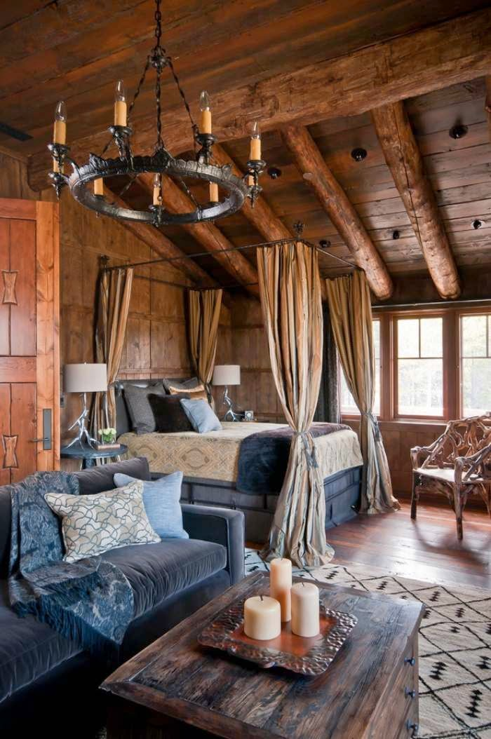 Habitación en madera