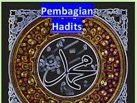 Pembagian Dan Pengertian Hadits; Hadits Mutawatir, Hadits Ahad, Hadits Sahih, Hadits Hasan, Hadits Daif