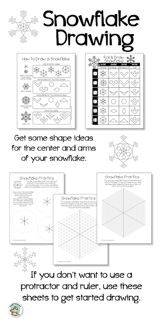 Turn your snowflake art activity into a learning experience that includes a little science and math!  Kids will be naturally curious about why no two snowflakes are alike.  Here is a little explanation.