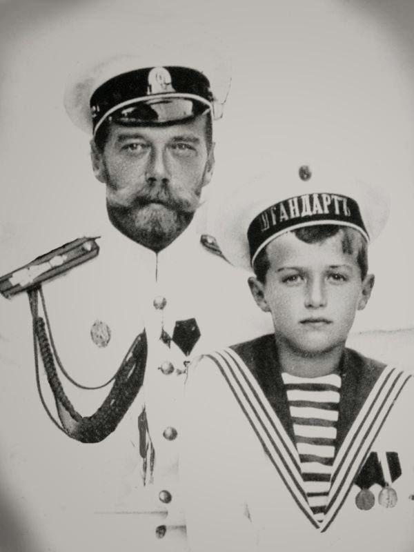 a biography of alexei nicholaevich romanov the tsar of russia