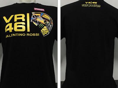 Kaos Baju Distro Valentino Rossi 46