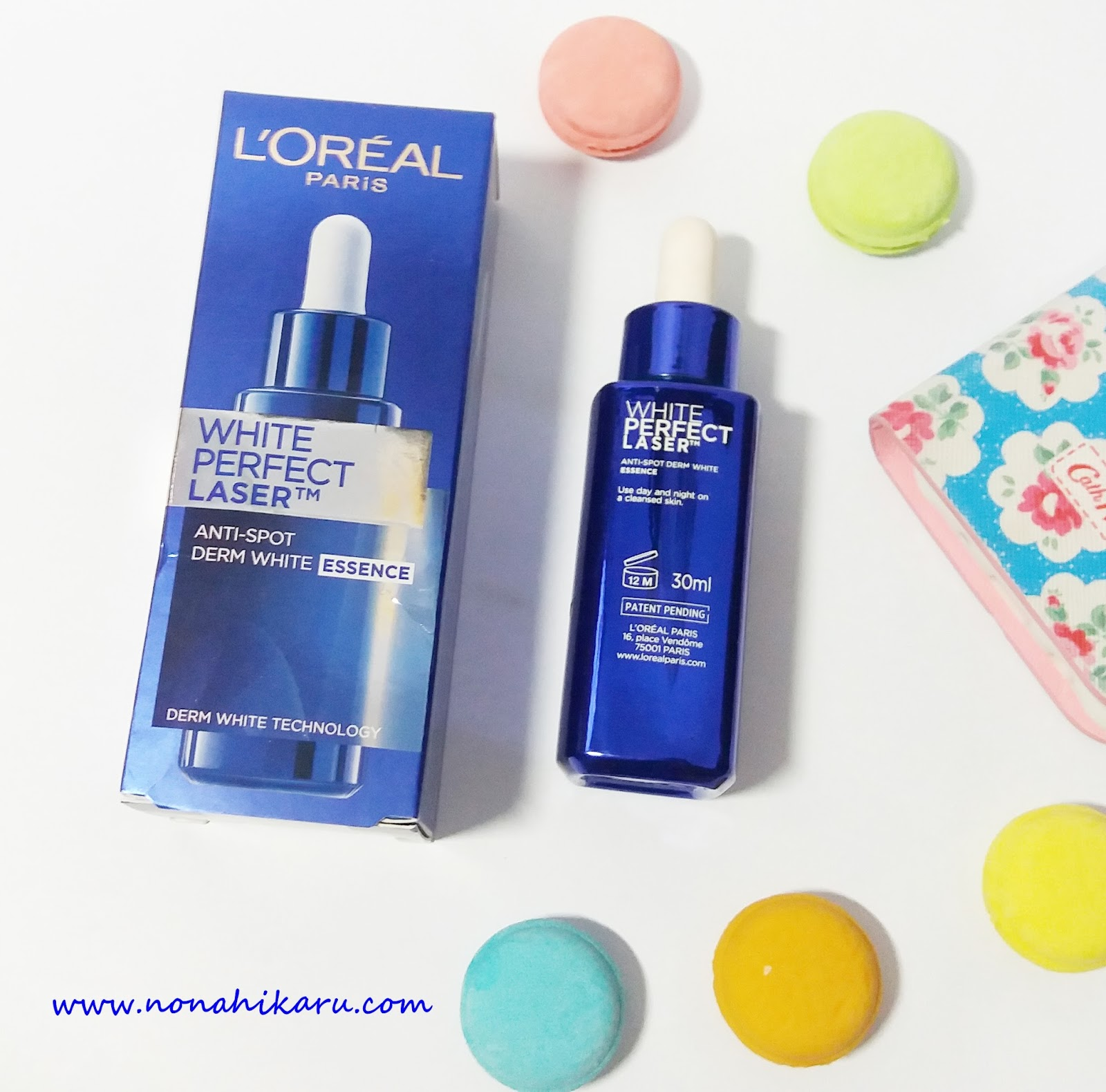 BEAUTY REVIEW LOREAL PARIS WHITE PERFECT LASER