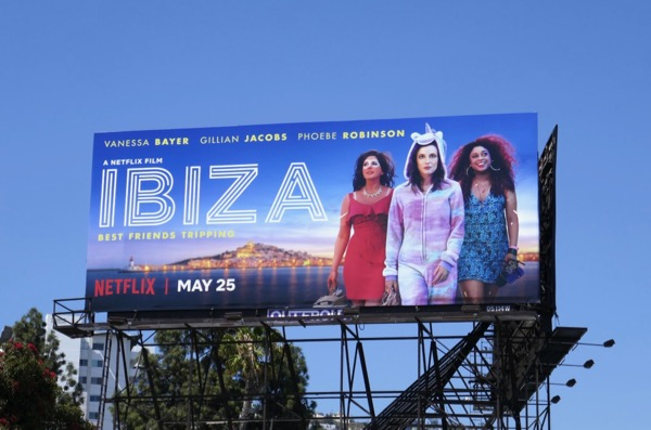 Ibiza movie billboard