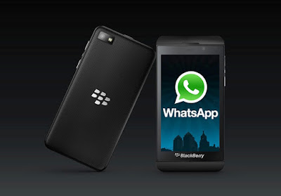 Whatsapp working on blackberry