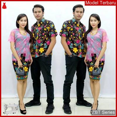 ZBT07609 Kebaya Batik Couple Aurel Brokat Modern BMGShop