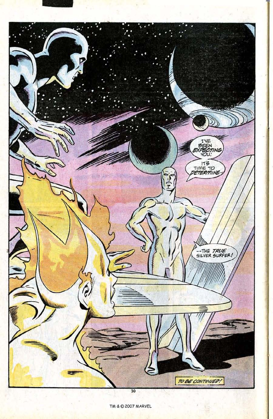 Read online Silver Surfer (1987) comic -  Issue #13 - 32