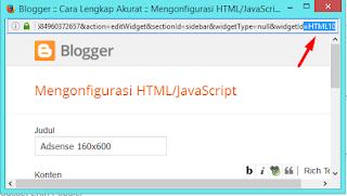 menyembunyikan widget di homepage atau postpage