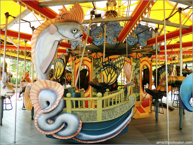 Viernes de Museos Gratis en Massachusetts 2017: THE GREENWAY CAROUSEL
