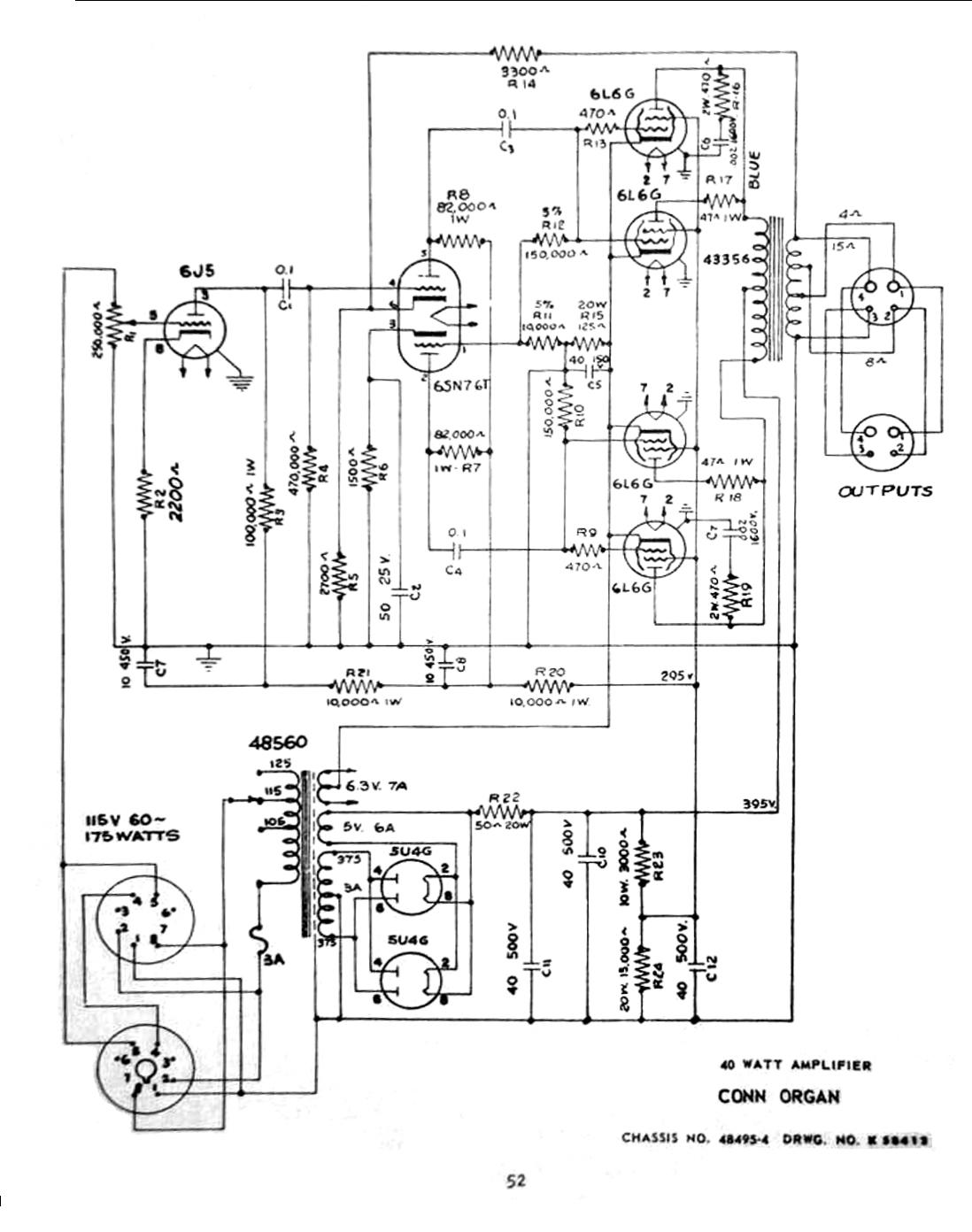 Vintage Electronics Book Conn 40 Watt