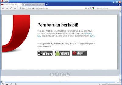 Browser Opera Terbaru 2012 Versi 11.61