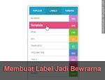 Cara Membuat Widget Label Jadi Berwarna Di Blog