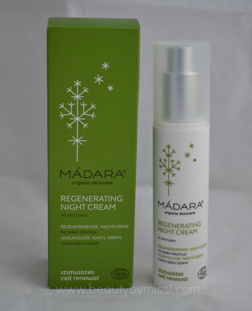 Madara Regenerating Night Cream