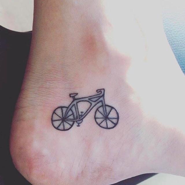 Tatuagem de bicicleta
