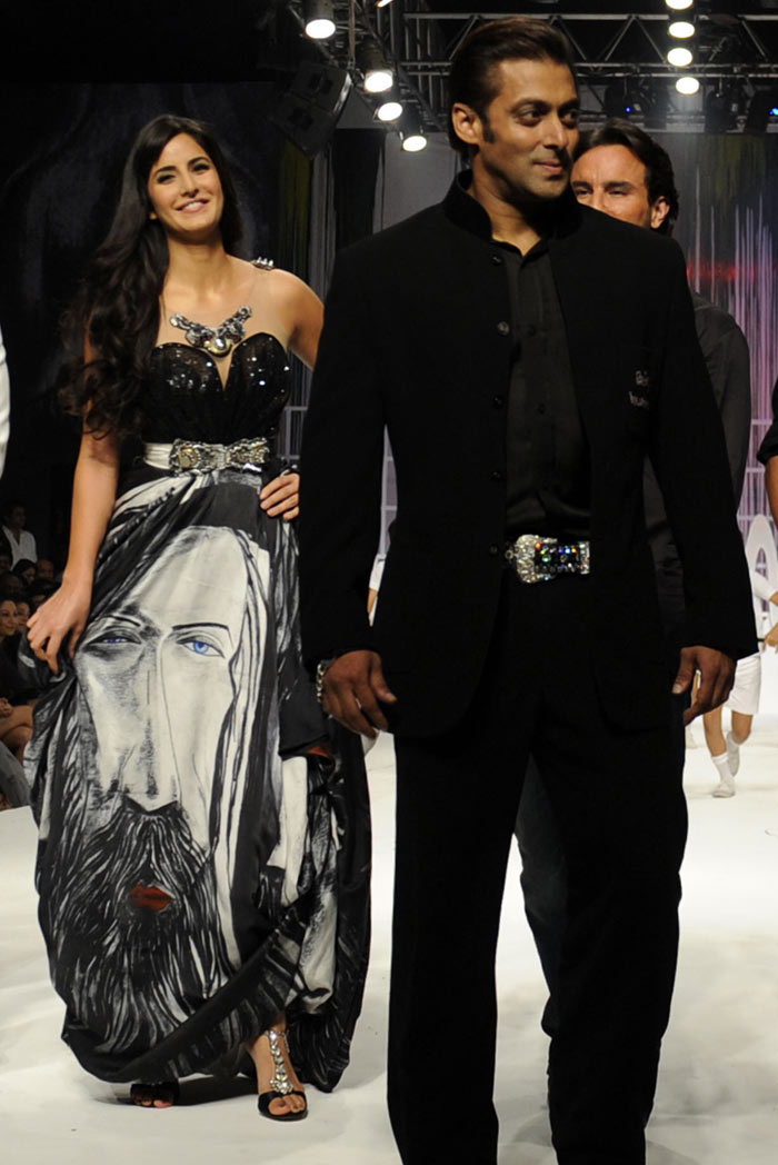Only-Katrina Katrina Kaif With Salman Khan