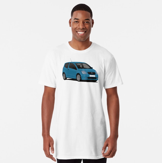 Citroën C2 T-shirt on Redbubble