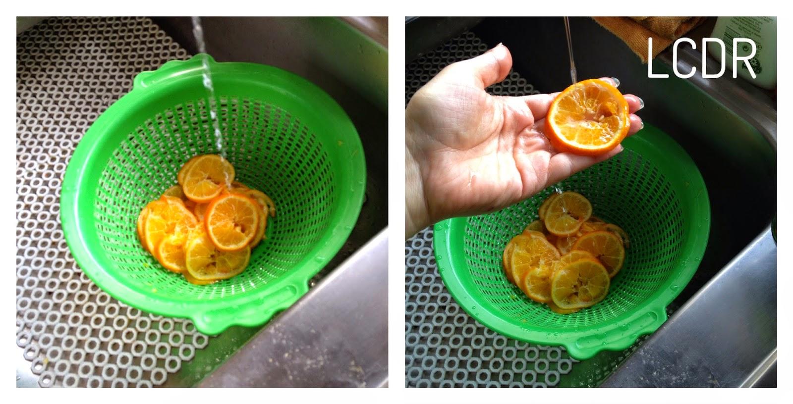 Receta de mandarina confitada 02