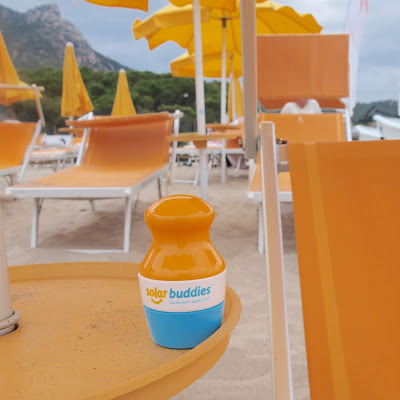 Solar buddies are absolutely fantastic for suncream on the go