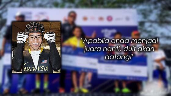Isu Juara Berbasikal Dapat RM30, Ini Komen Josiah Ng