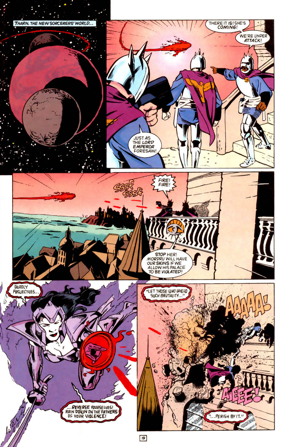 Legion of Super-Heroes (1989) 43 Page 19