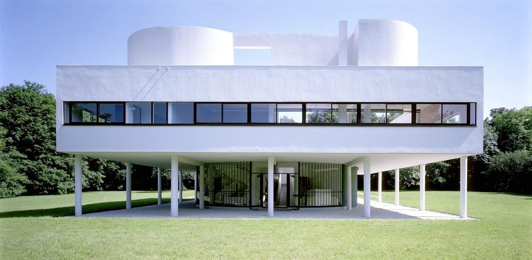 T D Le Corbusier La Villa Savoye Histoire des arts Page daccueil