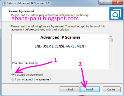 cara instal advanced ip scanner di laptop