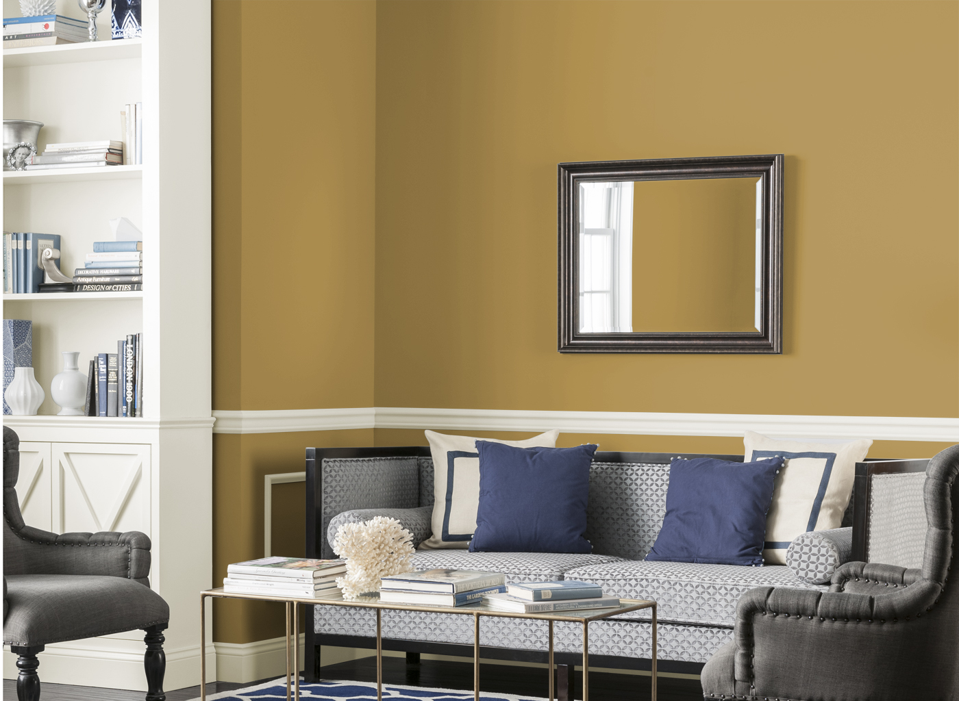 Cat Rumah Warna Gold Kombinasi Warna Cat Dulux Wallpaper Dinding