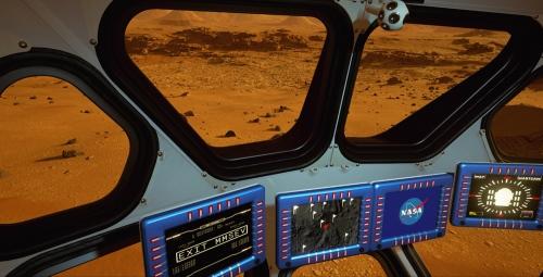 """Nhiệm vụ mà """"Mars 2030"""" đặt ra cho người chơi là phải khám phá hành tinh và thu về những mẫu vật. Chương trình dùng những đoạn thu âm thực tế của tàu tự hành để tăng thêm tính chân thật cho trải nghiệm."""