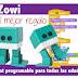 Zowi, Robot programable para todas las edades.